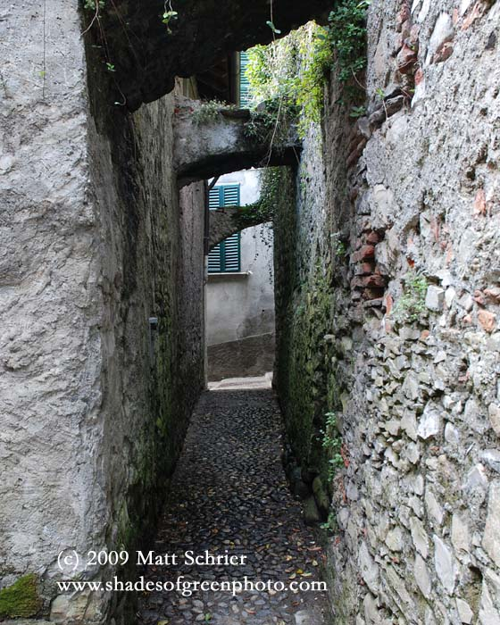 Ancient Alley, Lenno, Italy