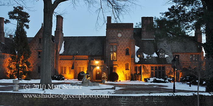Aldie Mansion - Winter, Doylestown, Pa