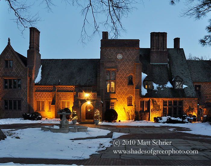 Doylestown pa photo art print twilight at aldie mansion for Craft shows in bucks county pa