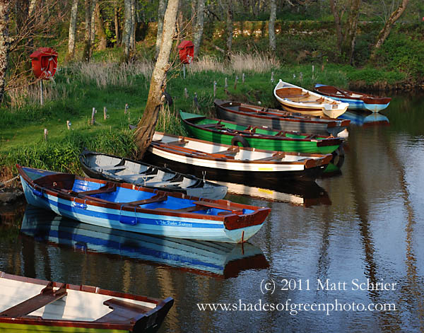 Irish Boats, Killarney, Ireland