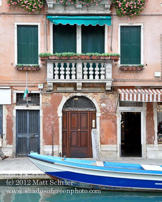 Old Murano House, Venice, Italy