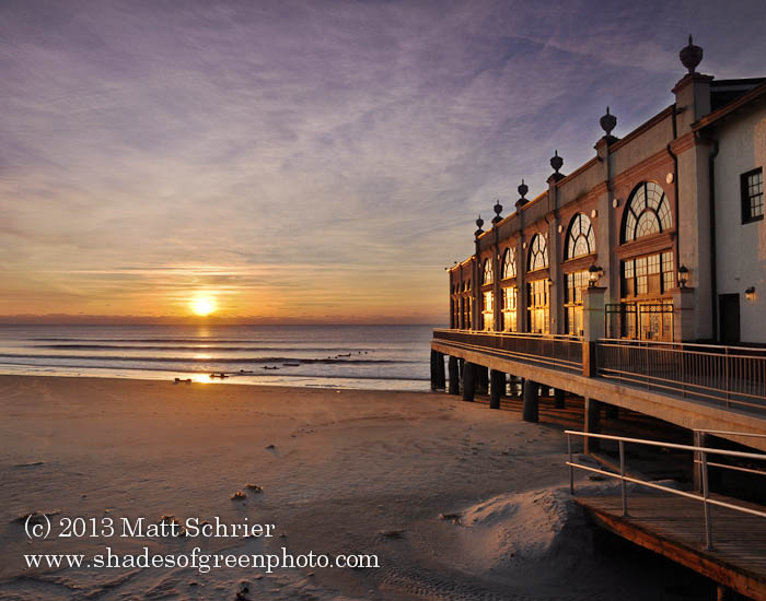 Music Pier Sunrise, Ocean City, NJ
