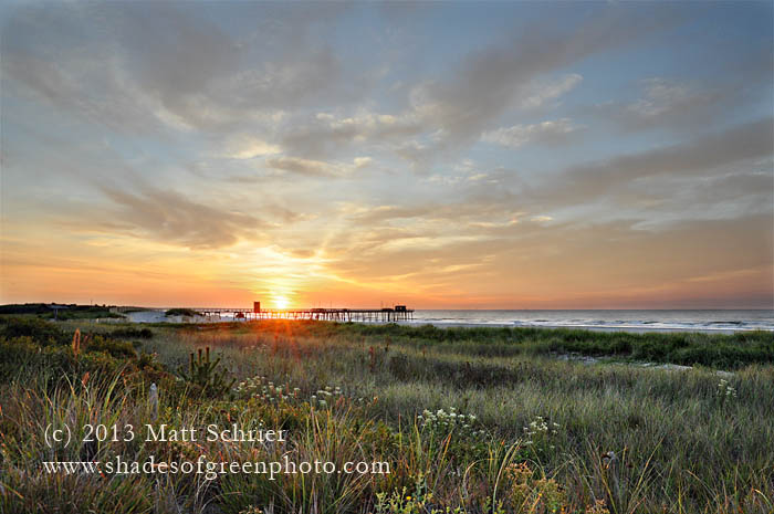 Sunrise Over the Dunes, Avalon, NJ