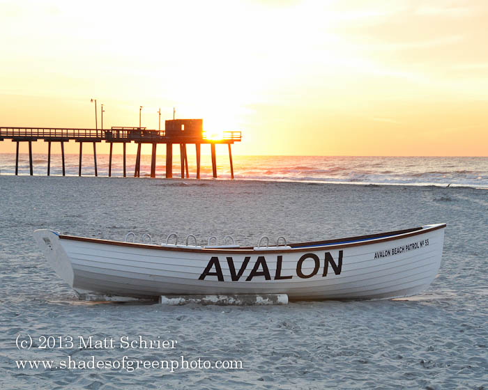 Lifeboat in the Morning, Avalon, NJ