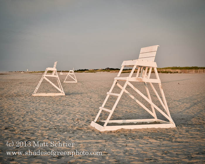 Lifeguard Stands, Avalon, NJ