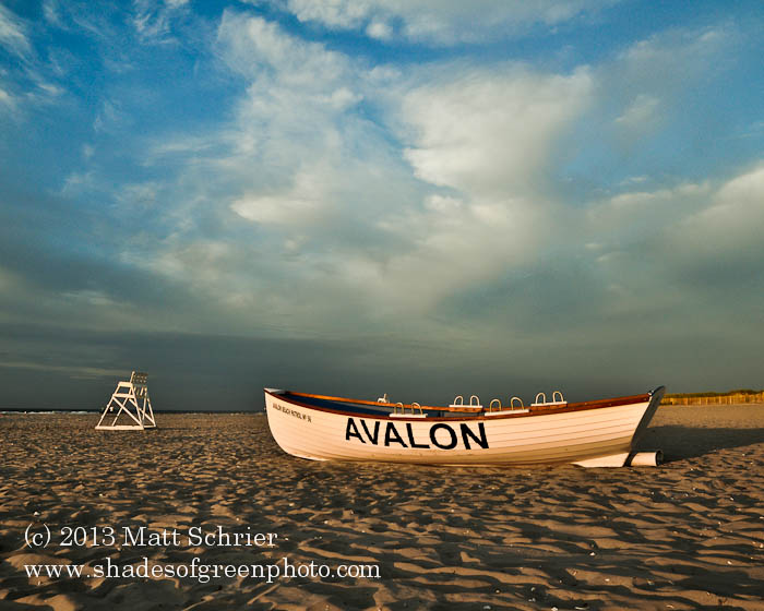 Morning on Avalon Beach, Avalon, NJ