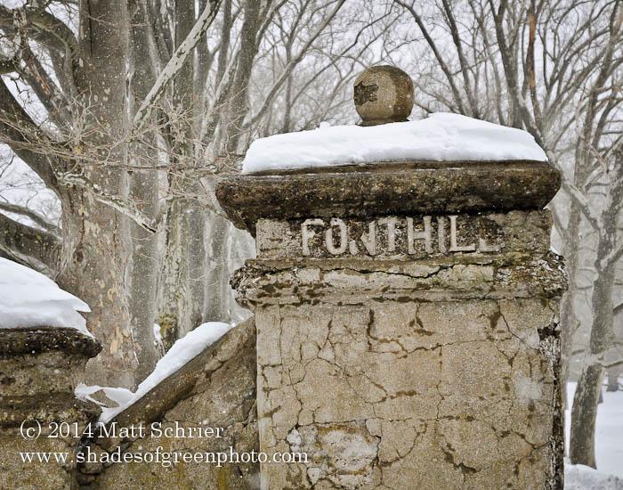 Entrance to Fonthill Castle, Bucks County, PA