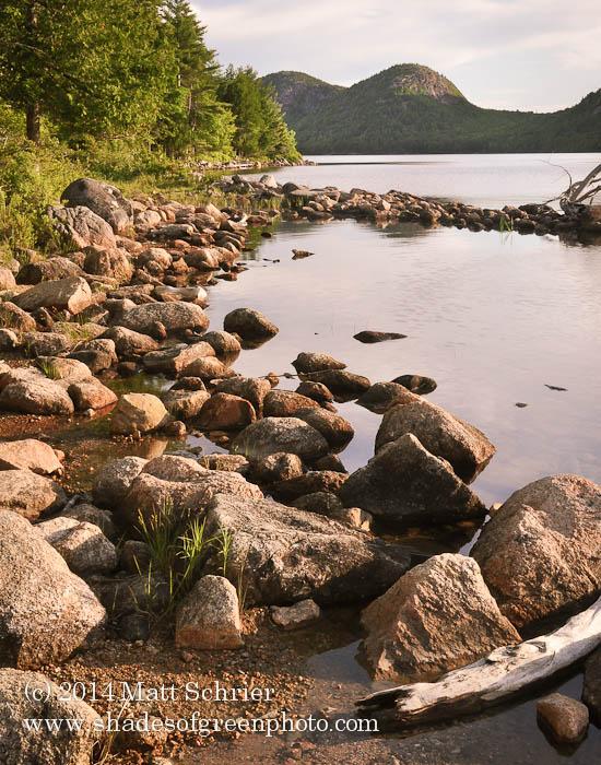 Jordan Pond Sunrise, Acadia NP, Maine
