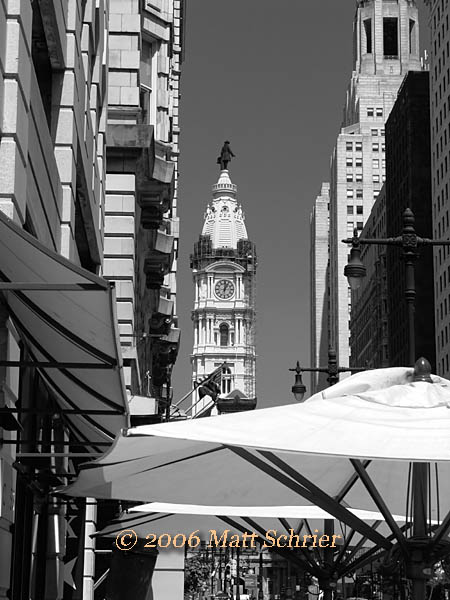 City Hall from south Broad St.,  Philadelphia, Pa