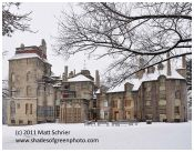 Fonthill in Snowstorm
