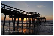 Avalon Fishing Pier Sunrise