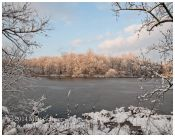 Lake after Snowfall